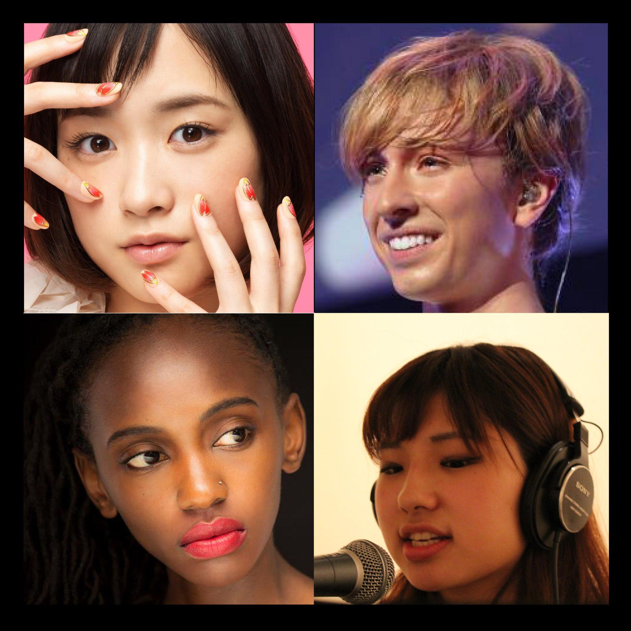 東京のボイストレーニングスクールM&N Bit Of Soundの生徒達の顔写真